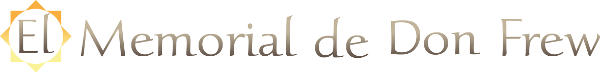 El Memorial de Don Frew Apartments Logo
